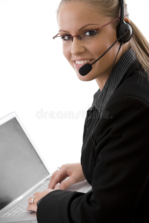 Kundendienst stockfotos