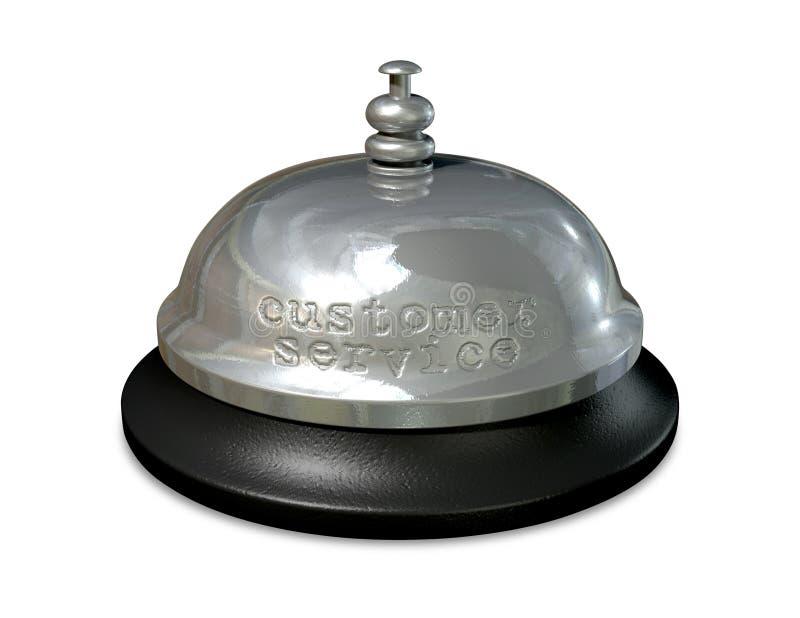 Kundendienst Bell stockbild