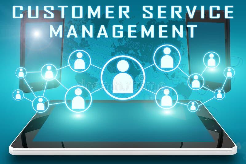 Kundendienst-Management lizenzfreie abbildung