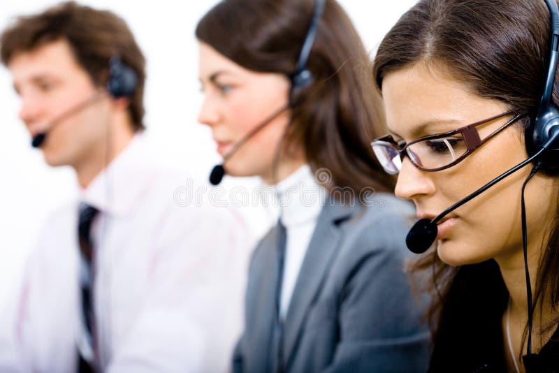 Kundendienst-Team lizenzfreies stockfoto