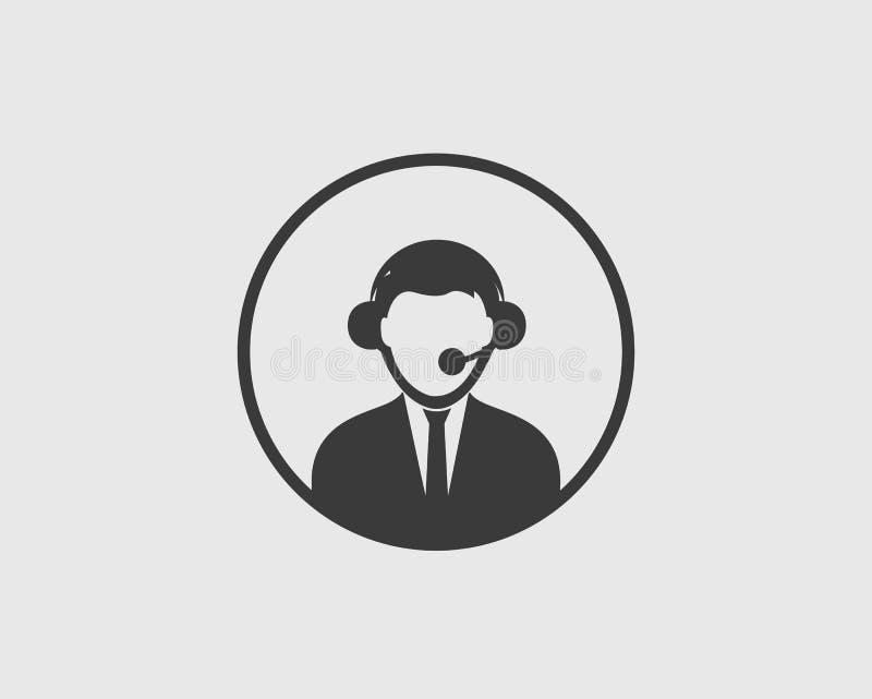 Kundendienstikone lizenzfreie abbildung