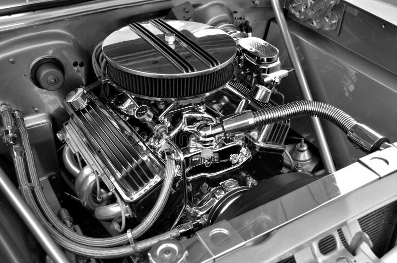 Kundengebundener Automotorhintergrund lizenzfreie stockfotos