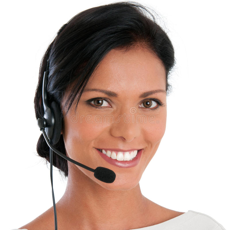 Kundenkontaktcentersupport stockfotografie