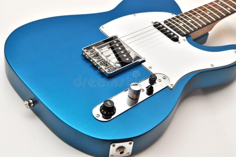 Kundenspezifische handgemachte E-Gitarre Telecaster-Art lizenzfreie stockbilder