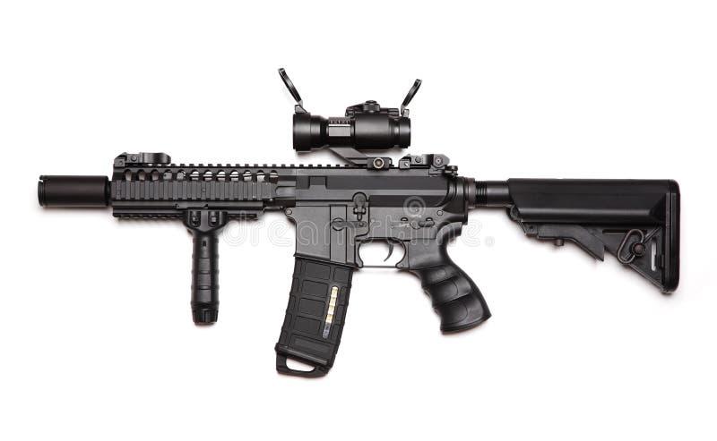Kundenspezifischer Angriff M4A1 Carbine stockfotos
