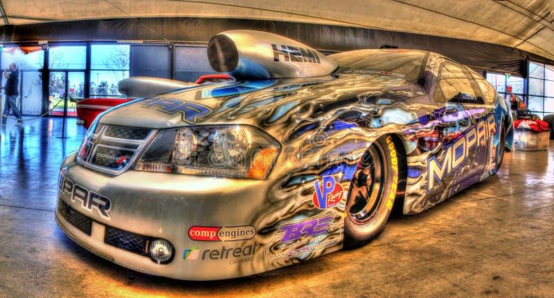 Kundenspezifisches Dodge-Rächerwiderstandauto lizenzfreie stockfotos