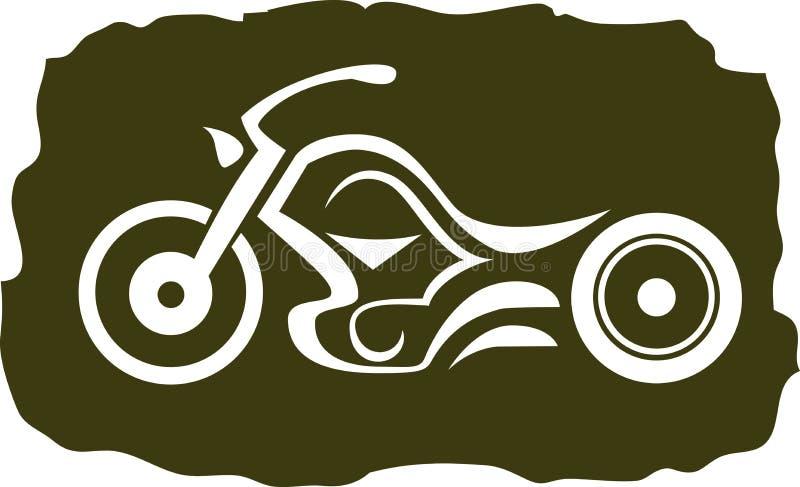 Kundenspezifisches Motorrad vektor abbildung