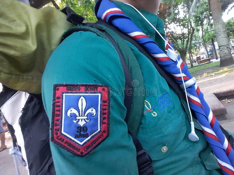 Kundschaftet Uniform lizenzfreies stockbild