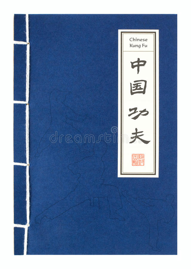 Kung chinês Fu ilustração stock