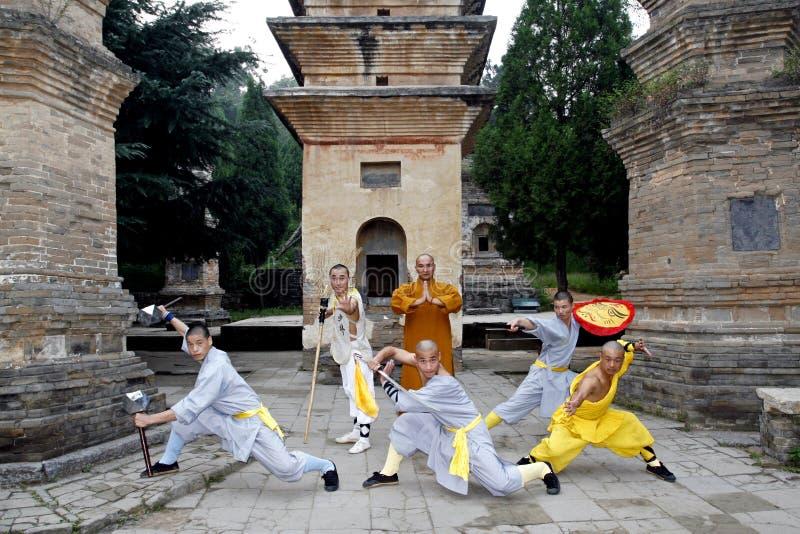 Kung chinês Fu fotografia de stock