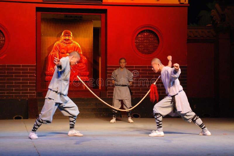 Kung-fu de Shaolin imagens de stock royalty free