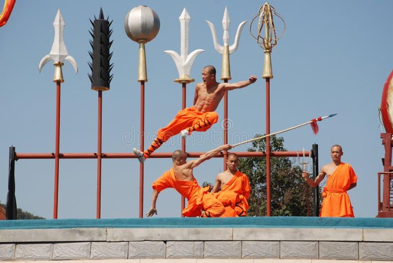 Kung-fu de Shaolin photo stock