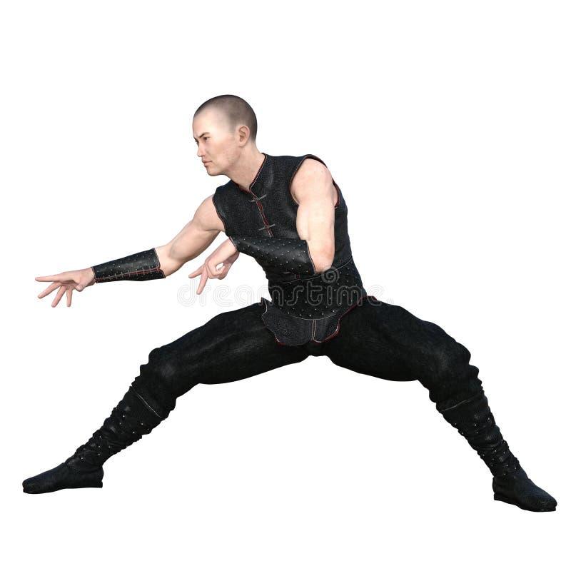 Kung fuförlage royaltyfri fotografi