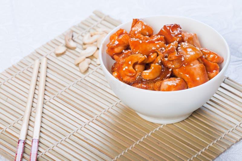 Kung Pao鸡 库存图片