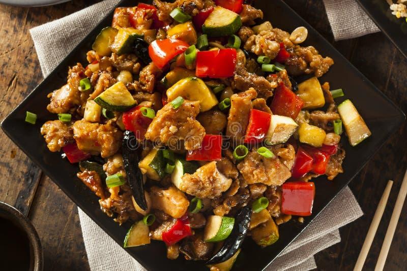 Kung Pao Chicken casalingo fotografie stock libere da diritti