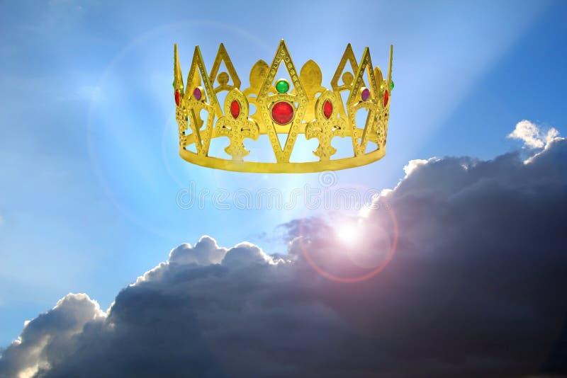 Kungarike av himlarna arkivbild