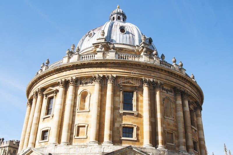 kungarike förenade oxford Oktober 13, 2018 - det Bodleian arkivet, det huvudsakliga forskningarkivet av universitetet av Oxford,  royaltyfri bild