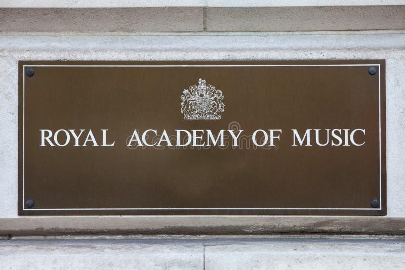 Kunglig akademi av musik royaltyfri bild