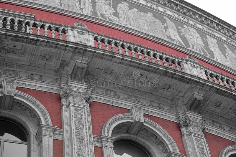 Kunglig Albert Hall detalj royaltyfri fotografi