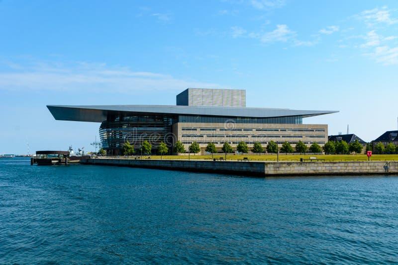 Kunglig dansk opera, Köpenhamn royaltyfria foton