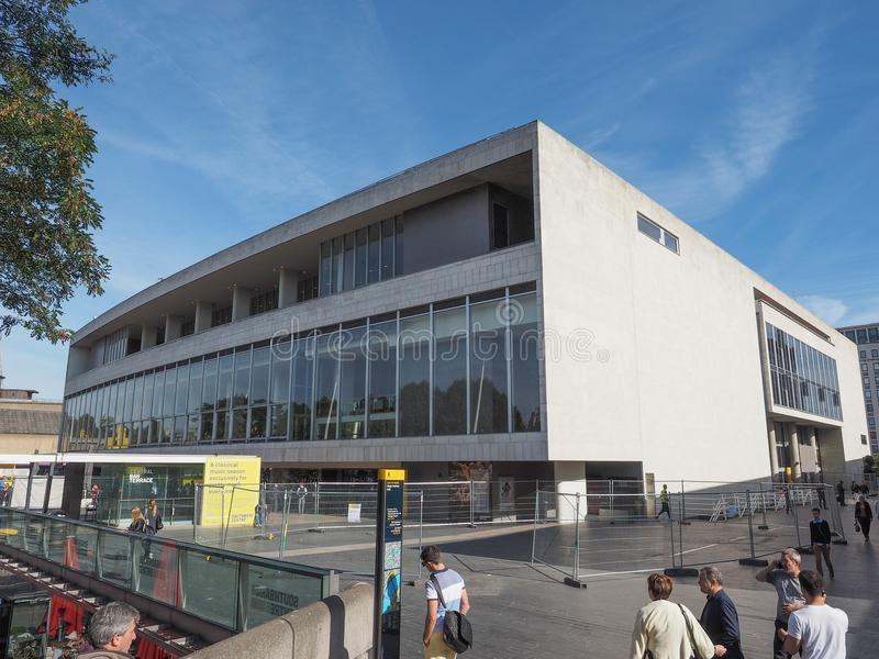Kunglig festival Hall i London i London arkivbilder