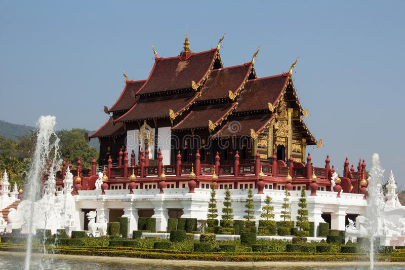 Kunglig Flora Ratchaphruek chiangmai Thailand royaltyfri bild
