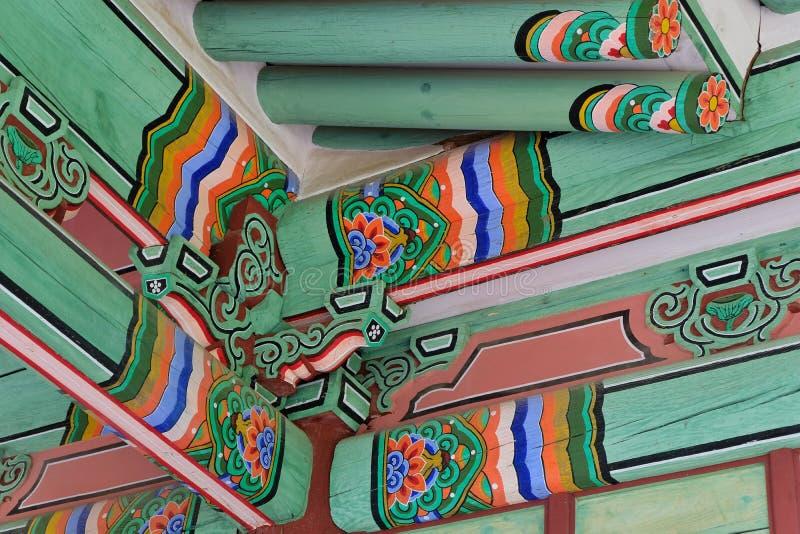 Kunglig gravvalv av Joseon dynasti, Korea arkivbild