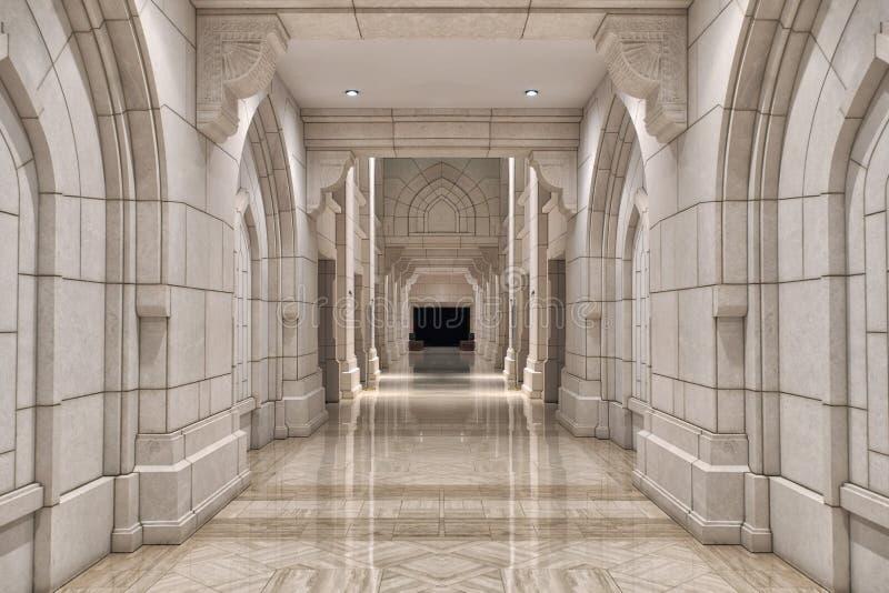 Kunglig operahus, Muscat, Oman fotografering för bildbyråer