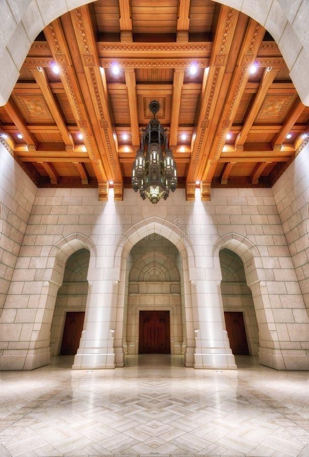 Kunglig operahus, Muscat, Oman arkivbilder