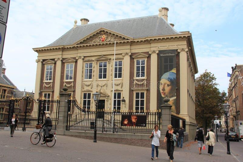 kunglig person för gallerimauritshuisbild fotografering för bildbyråer