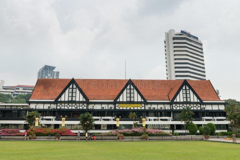 Kunglig Selangor klubba i Kuala Lumpur royaltyfri bild