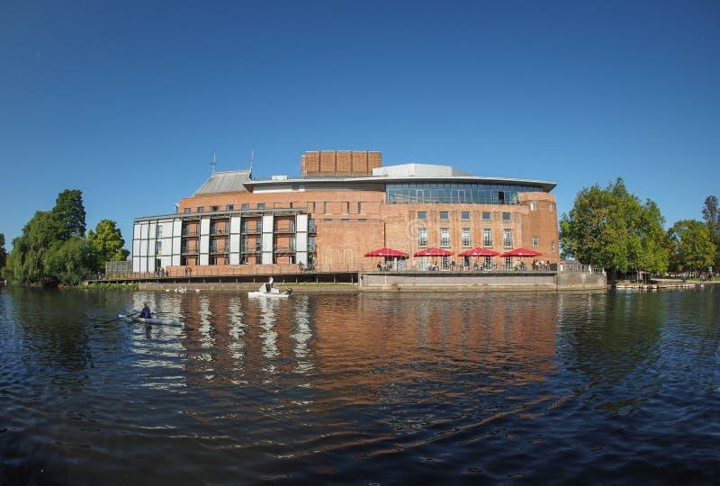 Kunglig Shakespeare teater i Stratford på Avon royaltyfria bilder