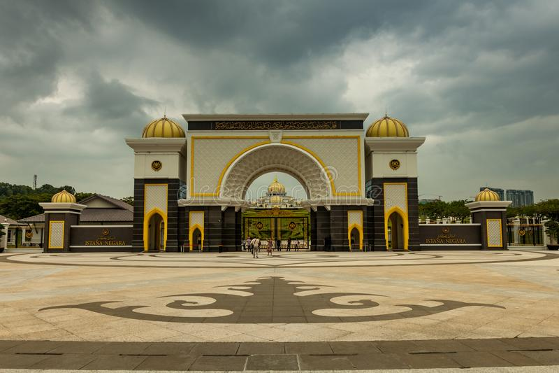 Kunglig slott för konung` s, KL Malaysia royaltyfri fotografi