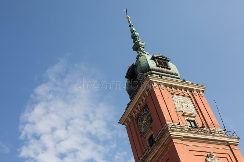 Kunglig slott, Warszawa, Polen royaltyfri bild