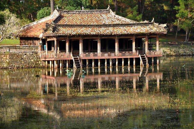 Kunglig Tomb av Vietnam royaltyfri bild