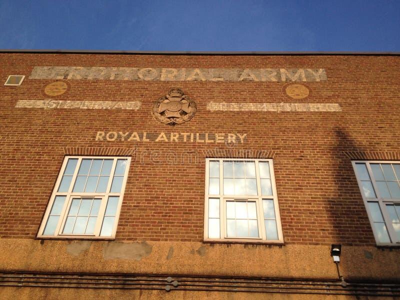 Kungliga artilleribaracker, London royaltyfri fotografi