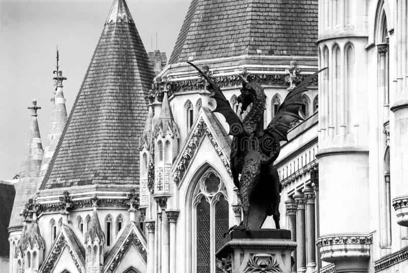 Kungliga domstolar av rättvisa royaltyfri fotografi