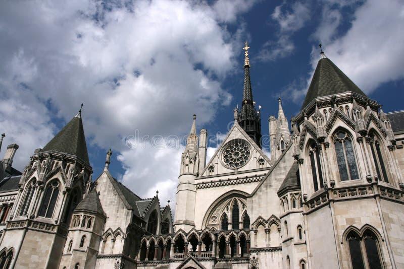 Kungliga domstolar av rättvisa arkivbilder