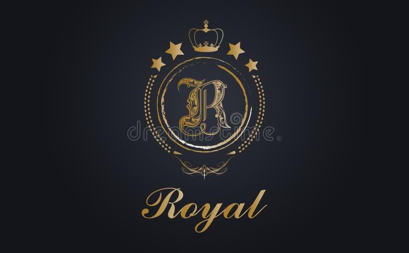 Kungliga lyxar stock illustrationer