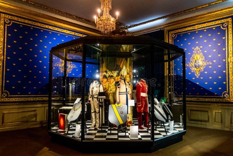 Kungliga slotten aka Royal Palace, Stadsholmen, Gamla stan, Éstocolmo, Suécia imagens de stock royalty free
