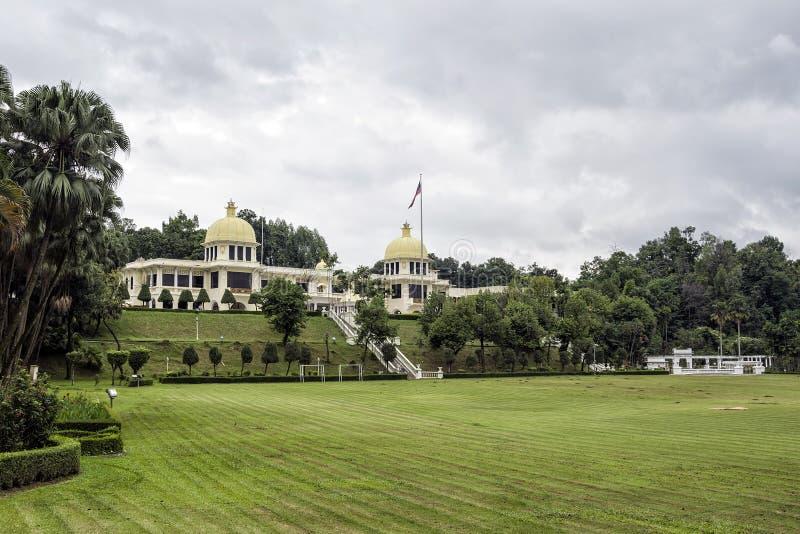 Kungligt museum, Istana Negara, Kuala Lumpur Malaysia fotografering för bildbyråer