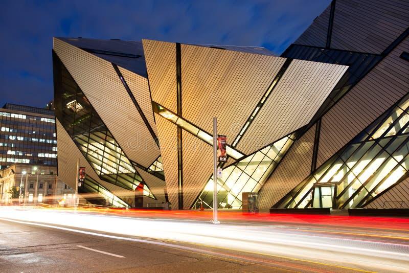 Kungligt Ontario museum, Toronto royaltyfri foto