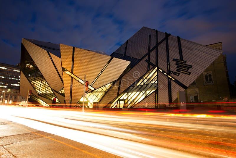 Kungligt Ontario museum, Toronto royaltyfria foton