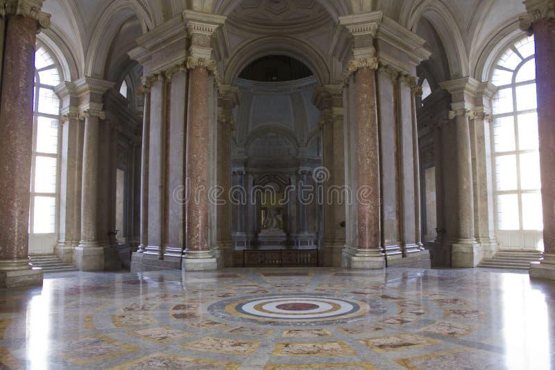 Kungligt Palatine kapell, foajé arkivfoto