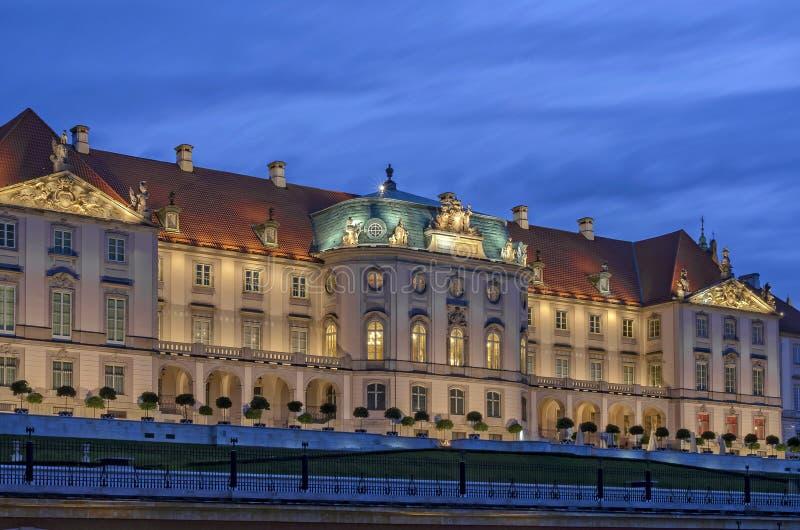 Kungligt slott, Warsaw royaltyfria foton