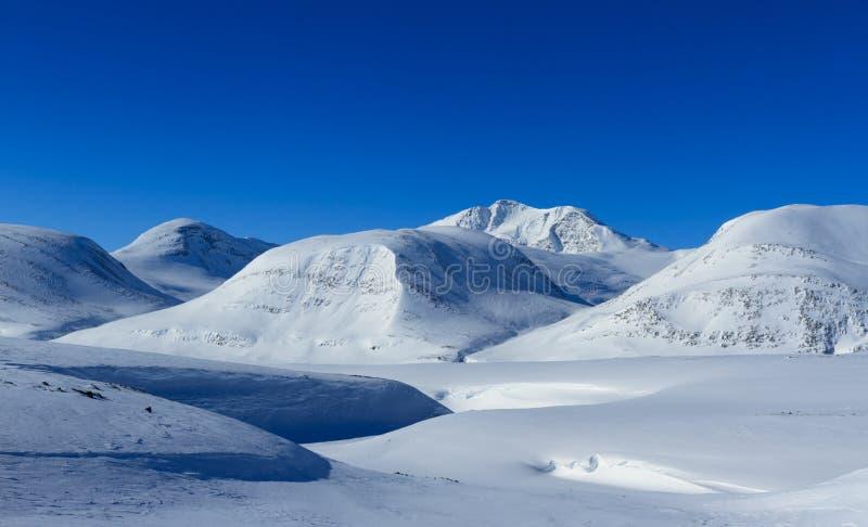 Kungsleden mountains royalty free stock photos