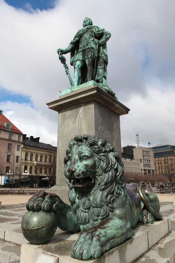 kungstradgarden斯德哥尔摩 免版税库存图片
