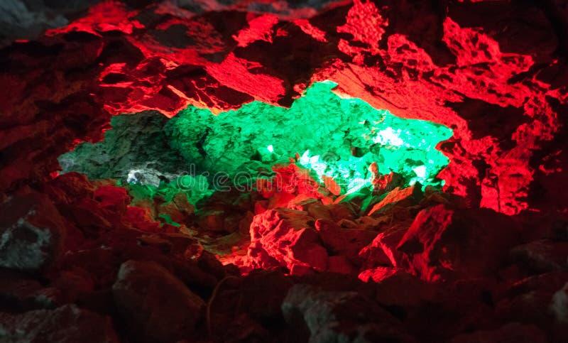 kungur льда grotto подземелья стоковая фотография