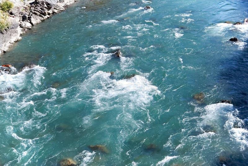 Kunhar-Fluss | Wasser-Strom | Fluss-Strom-Fotos lizenzfreies stockbild