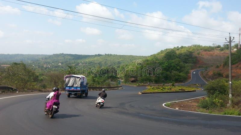 Kunkalyem Goa Sceniczny piękno zdjęcie royalty free
